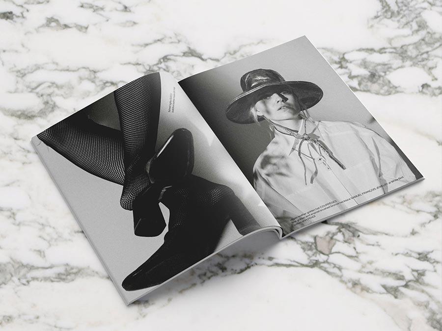 Les Femmes Publiques - issue 2 - cover Effy