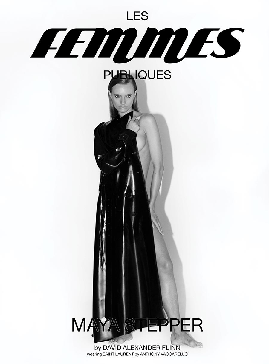 Les Femmes Publiques - issue 3 - cover Maya