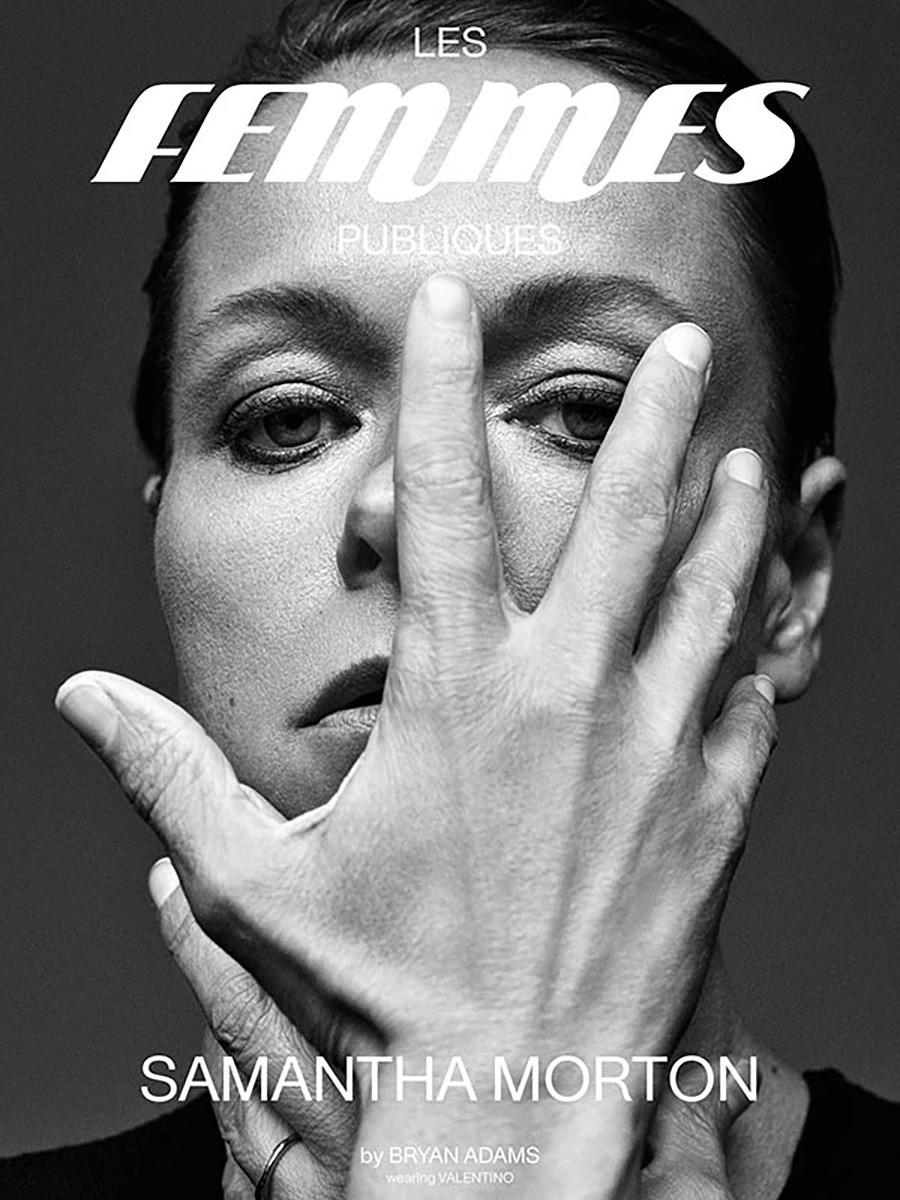 Les Femmes Publiques - issue 3 - cover Samantha