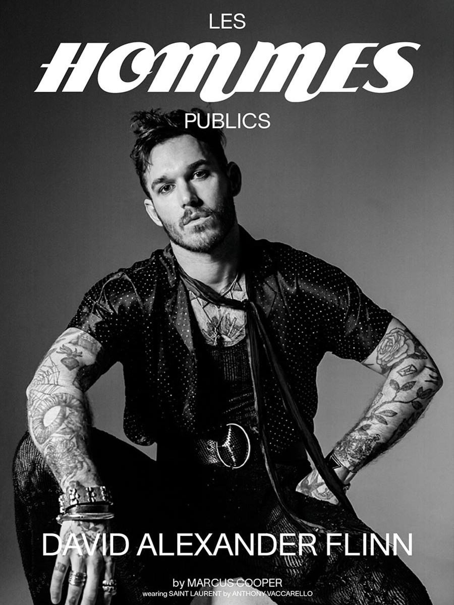 Les Hommes Publics - issue 2 - cover David Alexander Flinn