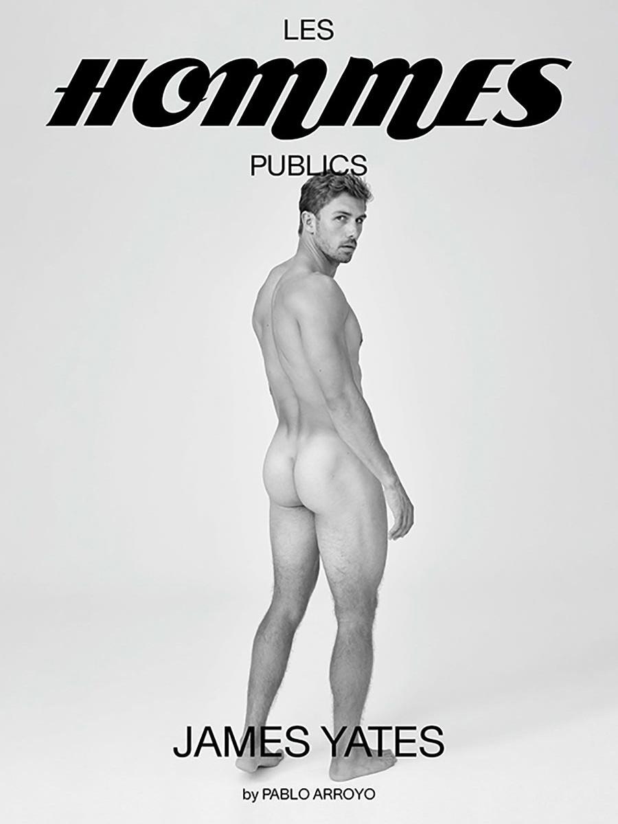 Les Hommes Publics - issue 3 - cover James