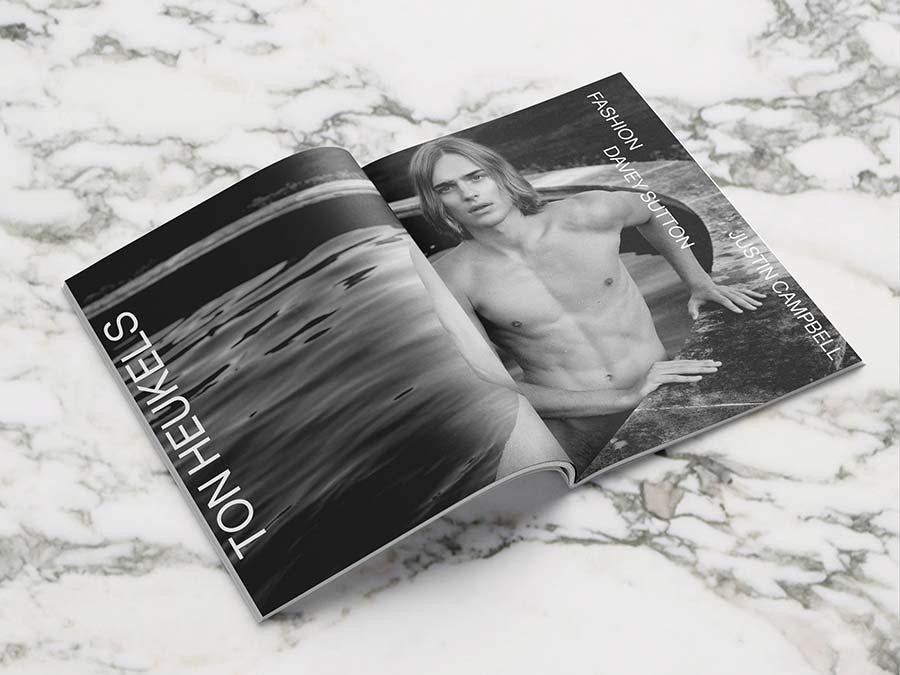 Les Hommes Publics - issue 3 - cover Ton