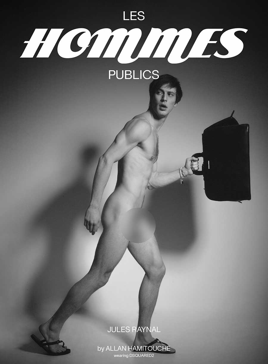 Les Hommes Publics - issue 4 - cover Jules Raynal