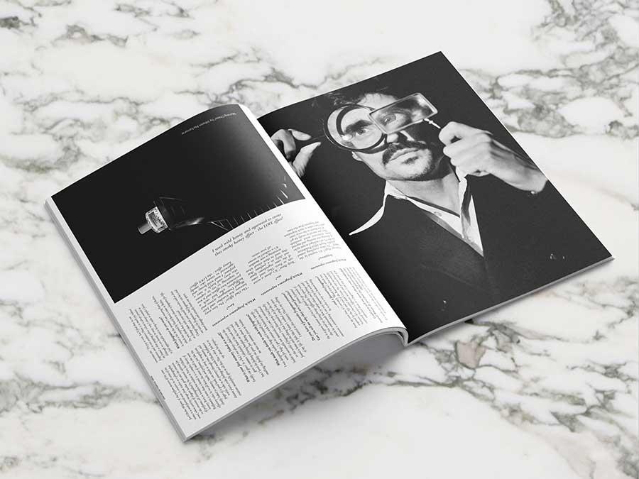 Les Hommes Publics - issue 4 - cover Julian Schneyder