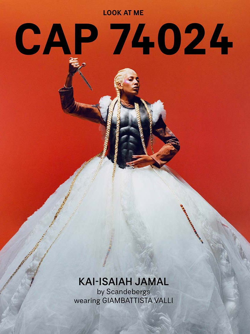 CAP 74024 - issue 12 - cover - Kai-Isaiah Jamal by Scandebergs