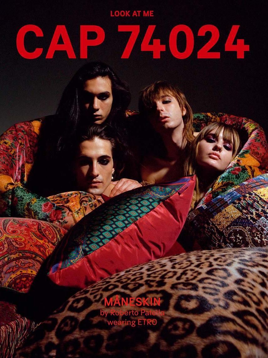 CAP 74024 - issue 12 - cover - Måneskin by Roberto Patella