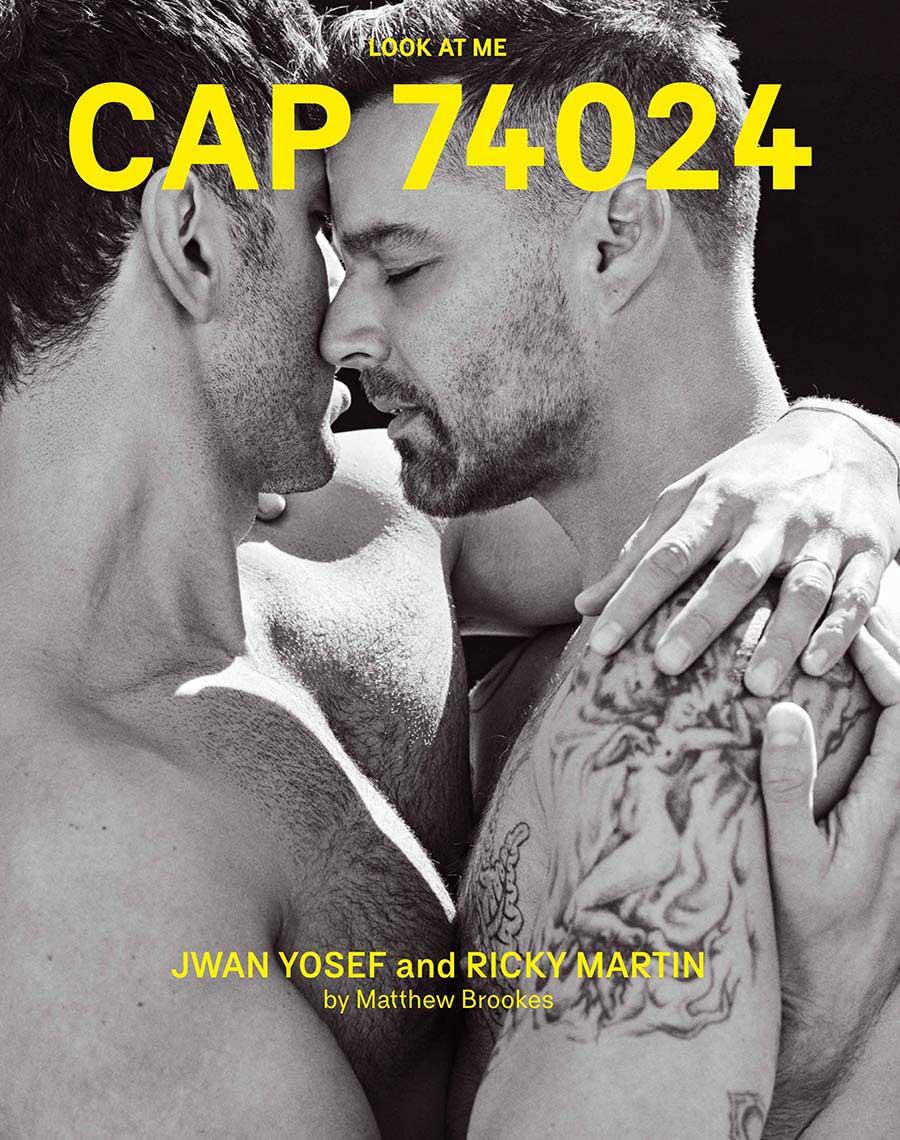 CAP 74024 #12 - Ricky Martin and Jwan Yosef cover | CAP 74024 Shop