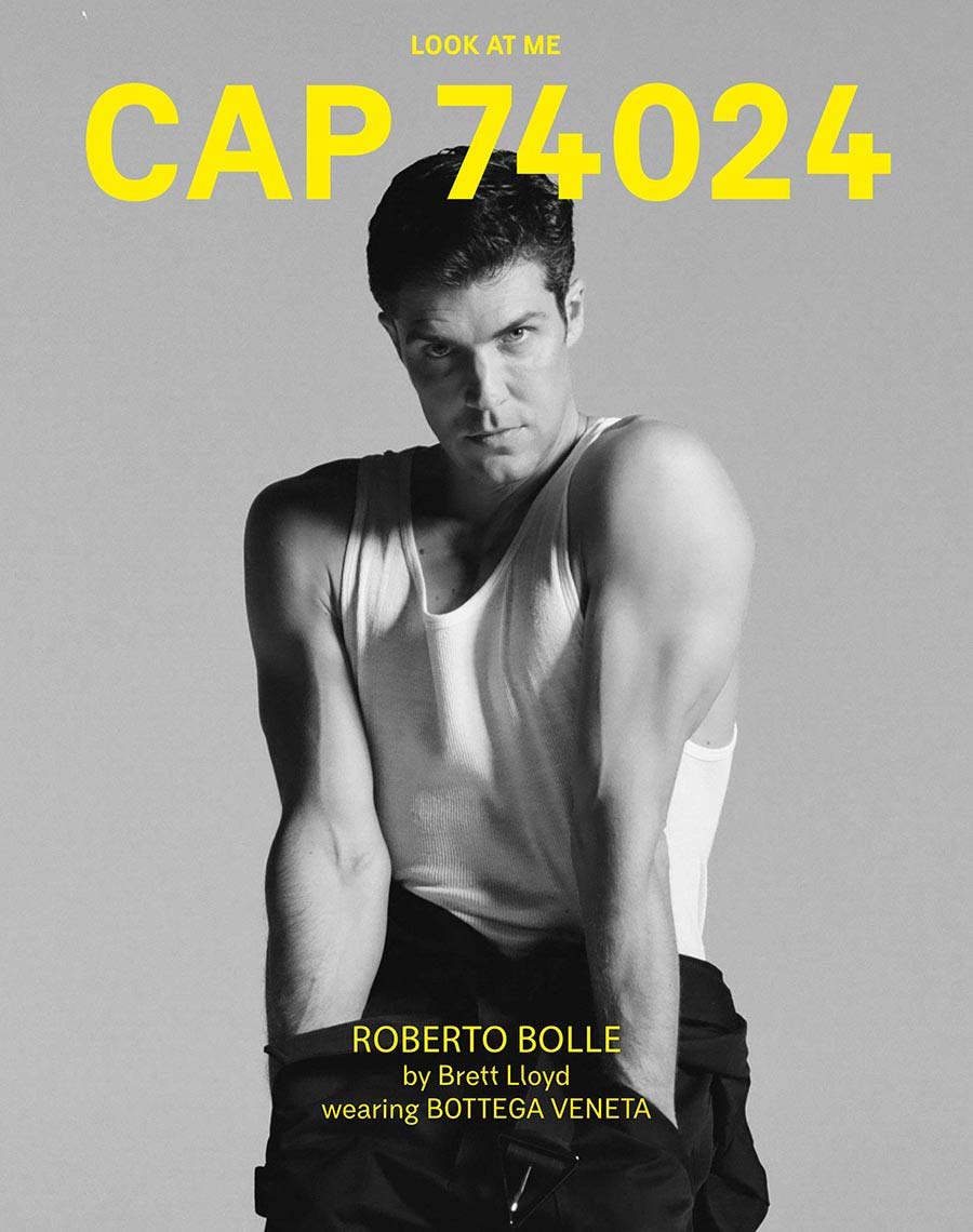 CAP 74024 - issue 12 - cover - Roberto Bolle
