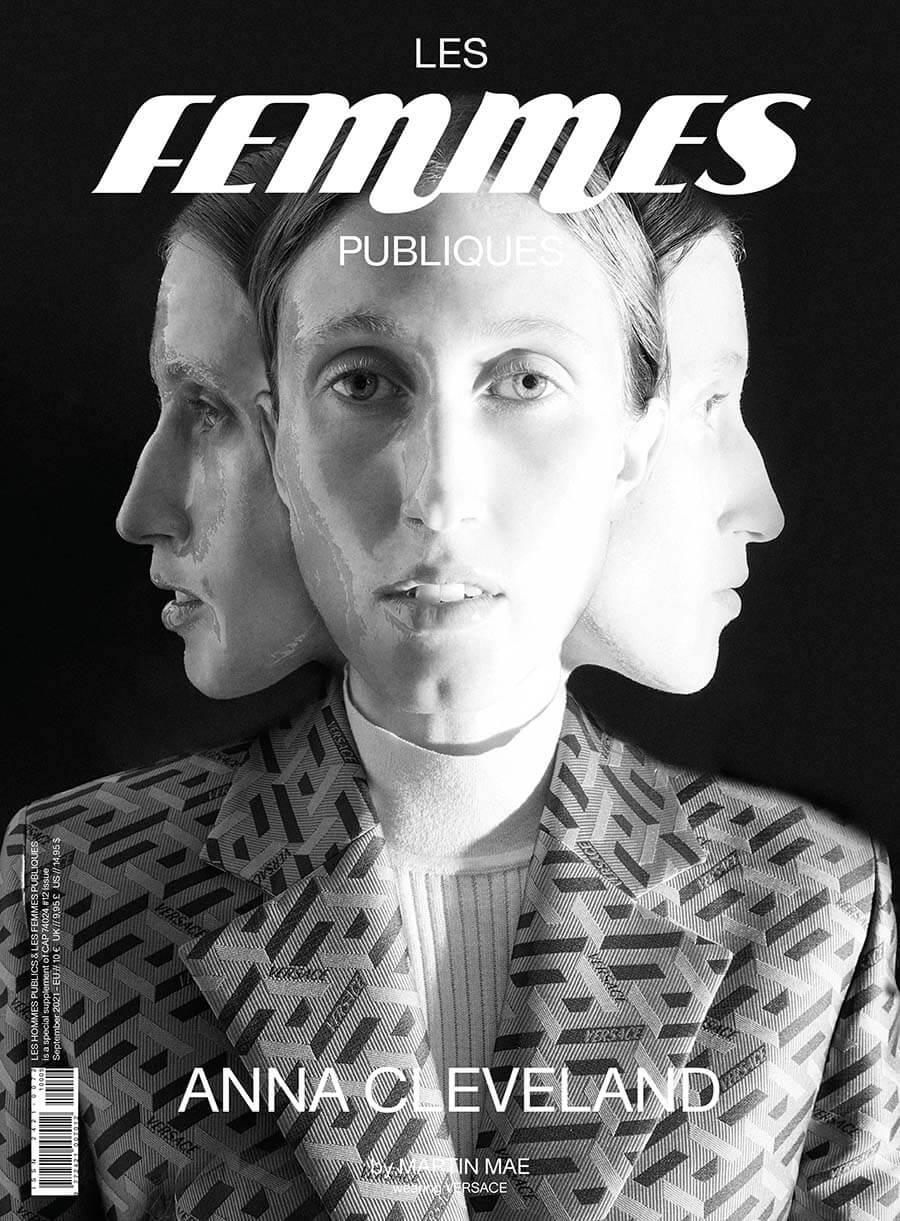 Les Femmes Publiques magazine - issue #05 – Anna Cleveland cover