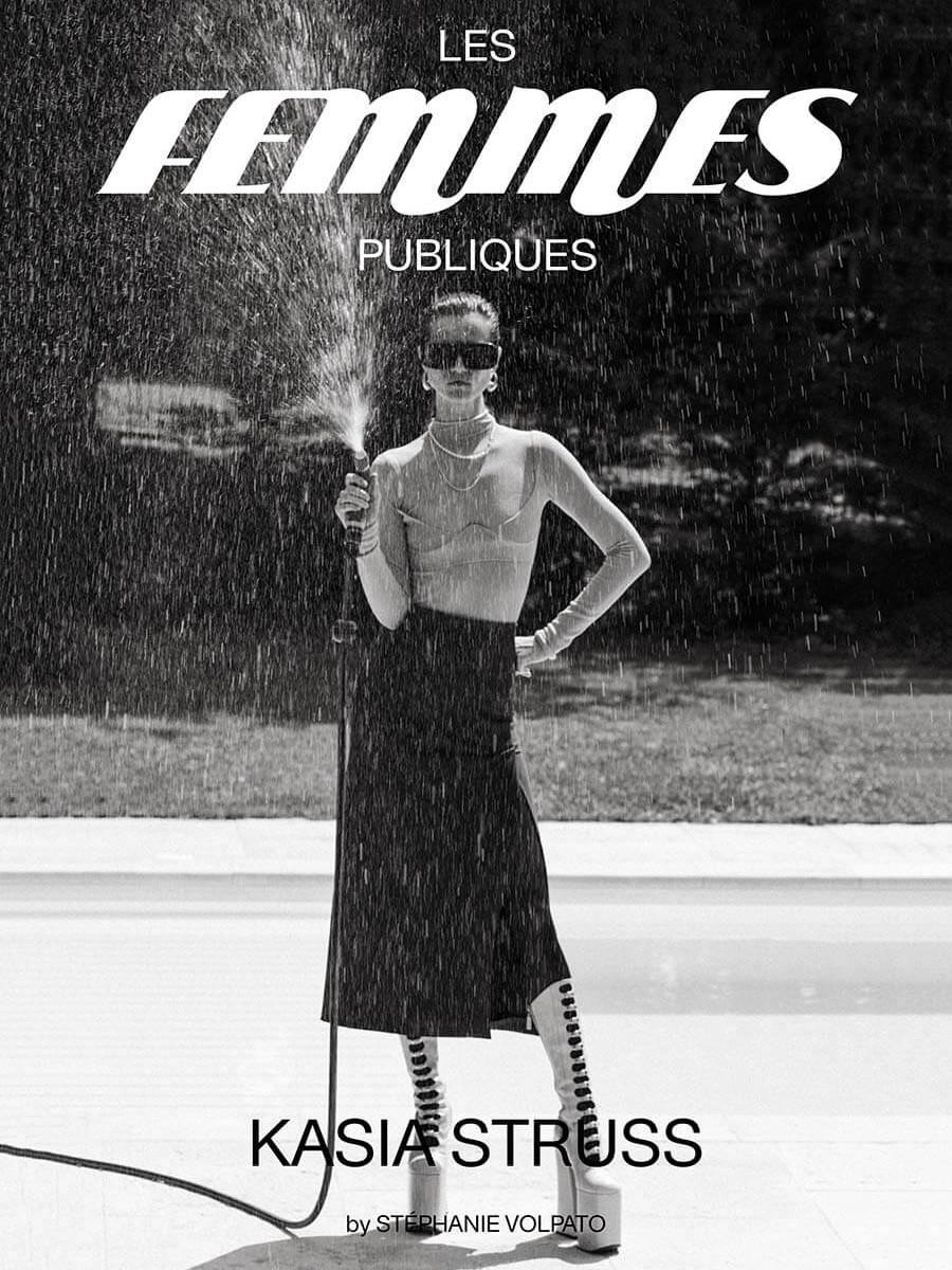 Les Femmes Publiques magazine - issue #05 – Kasia Struss cover
