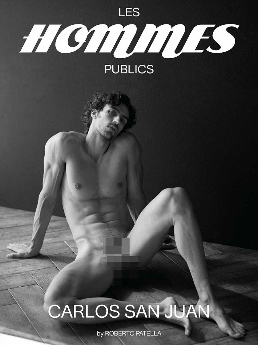 Les Hommes Publics magazine - issue #05 – Carlos San Juan cover